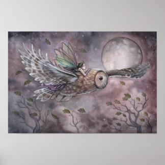 Poster altísimo del arte de la fantasía de la hada