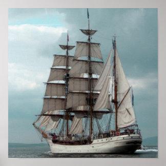 Poster alto magnífico de la nave