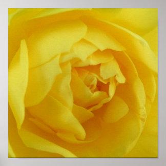 Poster amarillo