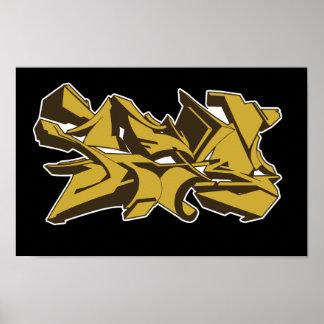 poster amarillo 2011 del grafstyle