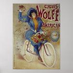 Poster americano de la bicicleta de Wolff de los c