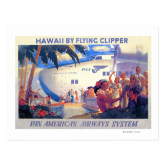 Poster americano del viaje de la cacerola del postal