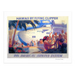 Poster americano del viaje de la cacerola del tarjetas postales
