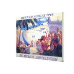 Poster americano del viaje de la cacerola del vint impresiones en lona