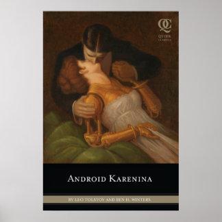 Poster androide de la cubierta de Karenina