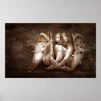 "Poster ""ángeles """