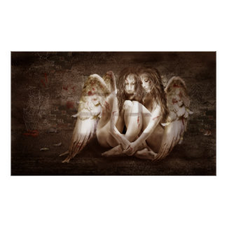 """Poster """"Angels"""""""