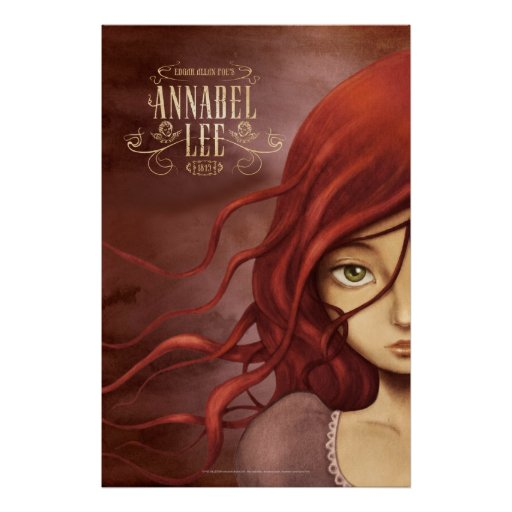 "Poster ""Annabel Lee """