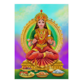 Poster Annapoorna goddess