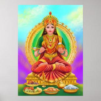 Poster Annapoorna goddess
