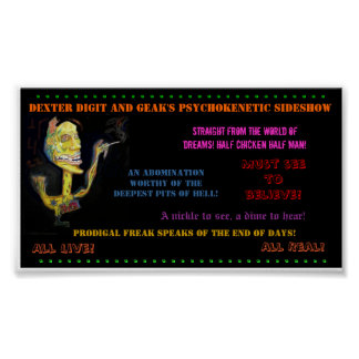 Poster anormal del acto secundario del Prodigal Póster