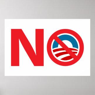 Poster anti de NObama Obama