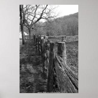 POSTER Appalachia - Photo By: John A. Sylves...
