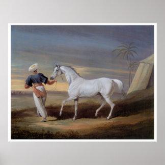Poster árabe de la impresión del arte del vintage