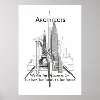 Poster archival de los arquitectos