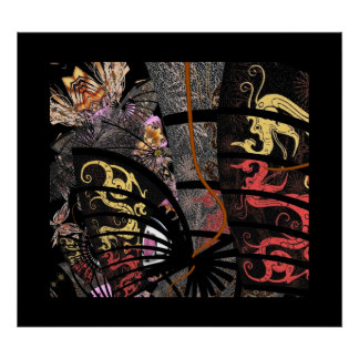 Poster Art Asian Fighting Dragon