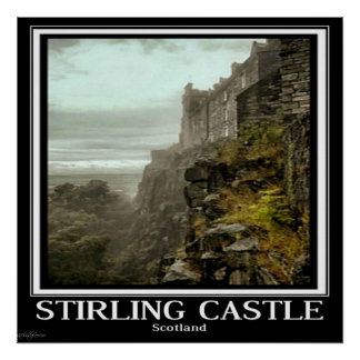 Poster Art by Linda Parsons - Stirling Castle