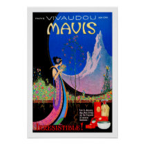 Poster: Art Deco Ad - By Fred Packer