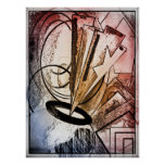 Poster, arte abstracto
