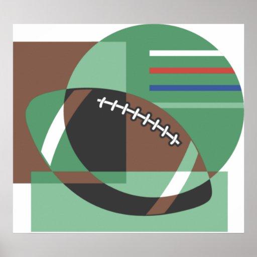 Poster artsy del fútbol