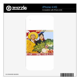 Poster asiático iPhone 4 skin