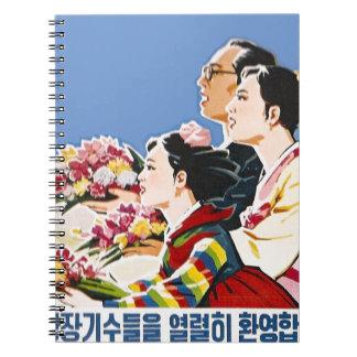 Poster asiático libretas