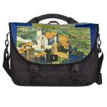 Poster Assisi Italia del vintage del viaje Bolsas De Portátil