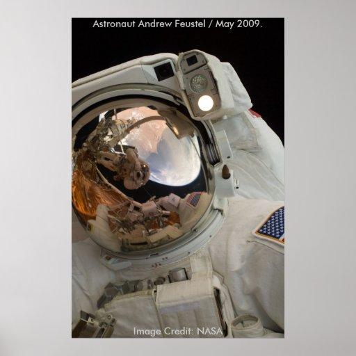 Poster/astronauta Juan Grunsfeld