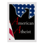 Poster ateo americano