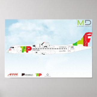 Poster - ATR72 TAP Expres
