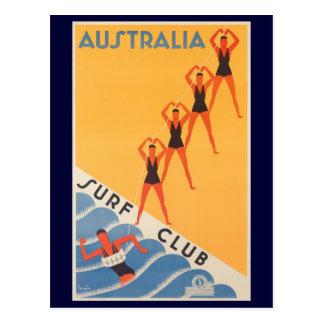 Poster australiano del vintage del club de la resa postales