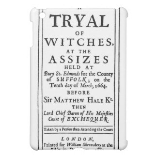 Poster auténtico de los ensayos de la bruja
