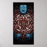 Poster azteca del arte