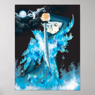 Poster azul de Phoenix