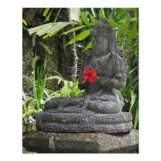 Poster: Bali Statue Poster