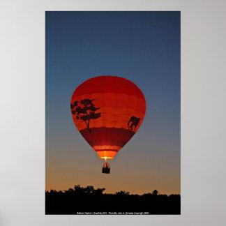 POSTER Balloon Festival - Deerfield, NH - Phot...
