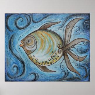 Poster banal de los pescados II