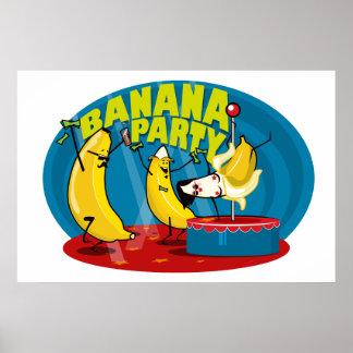 Poster Banana Party