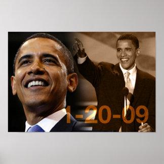Poster Barack Obama 1-20-09