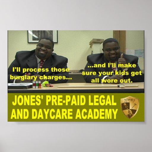 Poster barato del asno de Jones