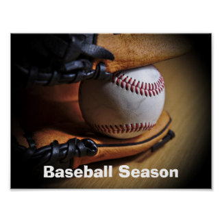 Poster: Baseball Season Poster