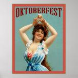 Poster bávaro de la publicidad del vintage del ~ d