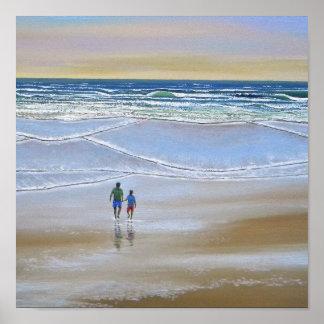 Poster ~ Beach Walk