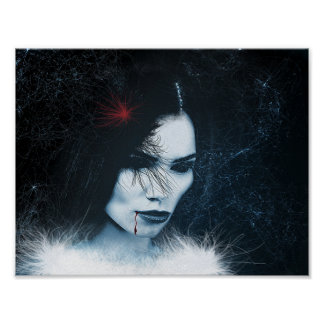 "Poster ""beautiful Alien """