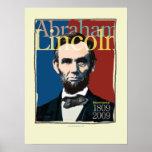 Poster bicentenario de Abraham Lincoln