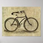 Poster:  Bicicleta del vintage