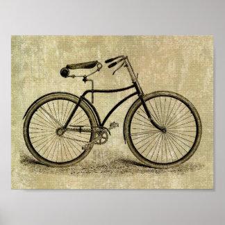 Poster:  Bicicleta del vintage Póster