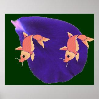 POSTER Birds Animals Fish Funny