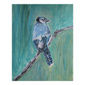 Poster - Blue Jay Song Bird