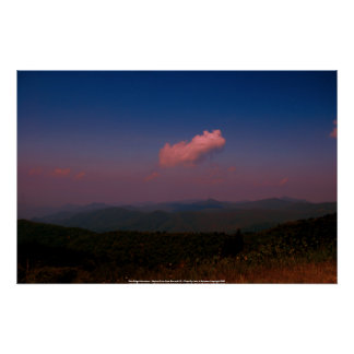 Poster Blue Ridge Mountains - Skyline Drive ...